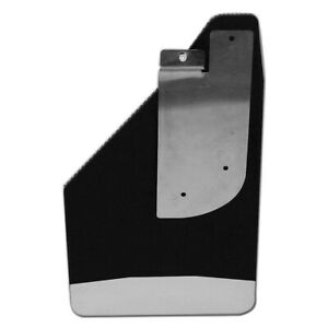 Ultimate Flap Mud Flap 12 In Width X 22 In Height W Stainless Steel Weight Sol