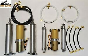 New 1966 1967 Lincoln Continental Complete Convertible Hydraulic Kit Made In Usa