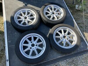 2009 Smart Fortwo 9 Spoke Wheels And Tires