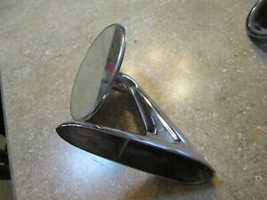 Vintage 1950 s 60 s Chrome Side View Mirror Classic Hot Rod Rat Truck Car