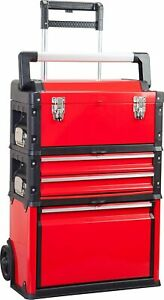 Bigred Trolley Tool Box 3 In 1 Tool Organizer