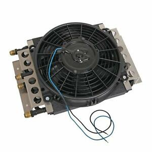 Derale 15200 Dual Circuit Cooler With Fan Kit