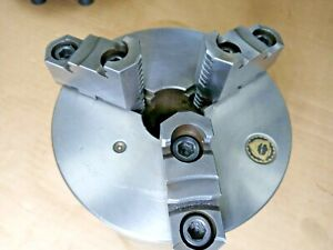 Bison 3285 6 1 4 3 Jaw 2 1 4 Mounting Chuck Fits South Bend Heavy Ten