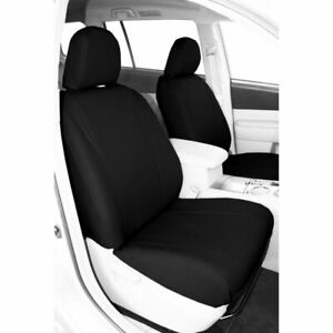 Caltrend Faux Leather Front Seat Cover For Nissan 2005 2010 Titan Ns379 01lx