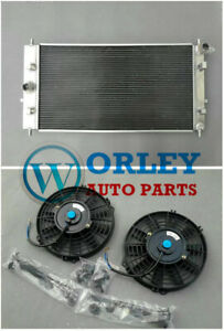Aluminum Radiator Fan For Chevrolet Cobalt Ss Lsj Lnf 2 0 2 2 2 4 2005 2010 Mt