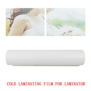 3mil Cold Laminating Film Roll Laminator For Laminating Posters Maps Signs