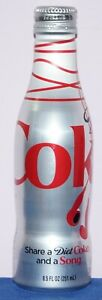 Diet Coca-Cola aluminium bottle Share A Diet Coke And A Song 2015