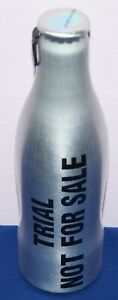 Coca-Cola aluminium TEST bottle 250ml TRIAL NOT FOR SALE + TEST pull tab