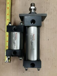 Lot 2 Used Norgren Air Pneumatic Cylinder 2 Bore 250psi