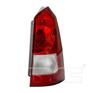 Tail Light Assembly Right Tyc 11 5971 91 Fits 03 07 Ford Focus
