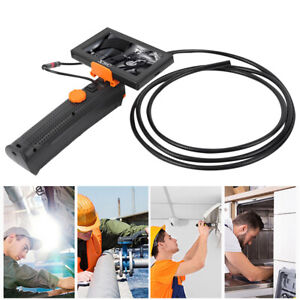 4 3in Hd Display Endoscope 80cm Hose Industrial Borescope With Front Led Light