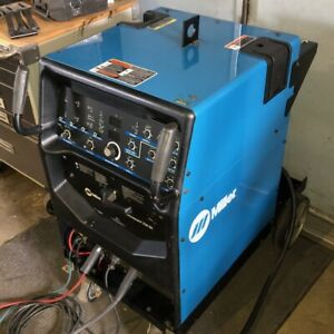 Miller Syncrowave 250 Dx 90719403 1 Tig Welder With Cart Accessories Year 2005