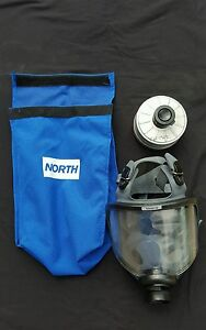North Full Face Gas Mask Part 54400 Series Size S
