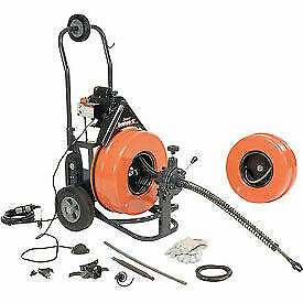 General Wire Speedrooter 92 Sewer Cleaning Machine Includes 2 Cables Cutter
