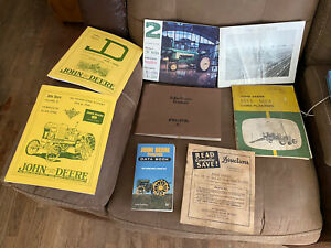 Lot Of John Deere Manuals Pamplets 8 Total