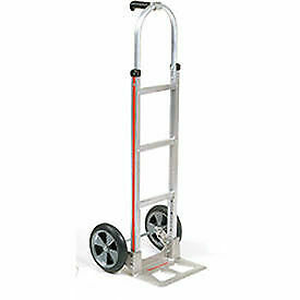 Magliner Aluminum Hand Truck With Pin Handle Balloon Wheels