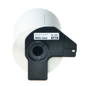 20 Roll 200 Shipping Labels Dk 1241 Dk1241 For Brother Ql 1050 W permanent Frame