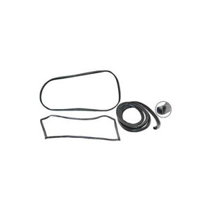 1970 72 Ford Pickup Cab Weatherstrip Kit With Chrome And Stationary Rear Window