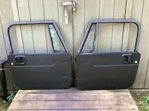 Full Hard Doors Key 87 95 Jeep Wrangler Yj 76 86 Cj7 Door
