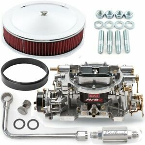 Edelbrock 1901k2 Avs2 Carburetor Kit Electric Choke Includes 500 Cfm Carburetor