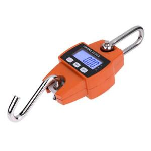 Mini Crane Scale Portable Lcd Digital Electronic Hook Hanging Weight 300kg H1