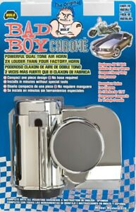 Wolo Bad Boy Dual Tone Air Horn One Piece Chrome 519 123 5 Decibels 530 680 Hz