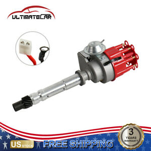 New Ignition Distributor Assy For Sbc Bbc Chevy 305 350 454 V8 Engine Pe323r