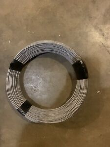 T 304 Grade 7 X 19 Stainless Steel Cable Wire Rope 5 16 50ft