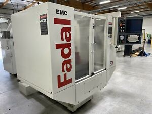 Fadal Emc Cnc Mill Machining Center