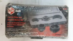 Kd Tool Service Kit 3 Piece Oil And Canister Socket Set Pn 41830 New