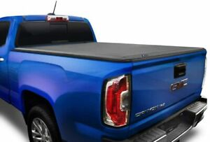 Tyger T1 Soft Roll Up Truck Tonneau Cover For 2015 2018 Chevy Colorado 5 2 Bed