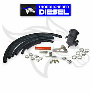 Ppe Crankcase Breather Filter Kit For 07 5 10 Duramax Lmm 114027500