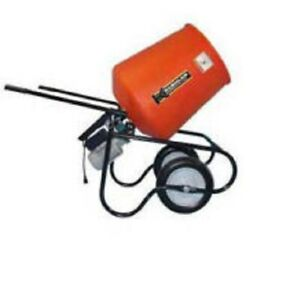 New Kushlan Products 350dds Unassembled Direct Drive Cement Mixer W Stand