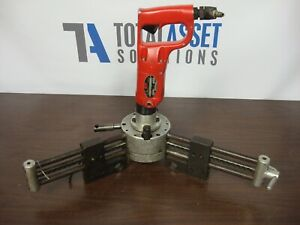 Rabbit Tool Portable Center Drilling Machine For Bar Stock Sioux 1466 1 2 Air