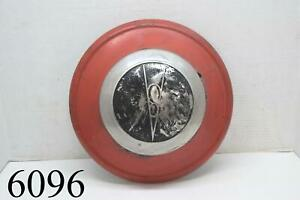 1936 Ford V8 Hubcap Hub Cap Wheel Cover Dog Dish Poverty 1930s 30s Old Bubble