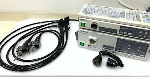 Olympus Cv 140 Video Endoscopy System With Colonoscope Duendoscope