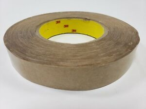 3m Adhesive Transfer Tape 950 Clear 1 In X 60 Yd 5 Mil One Full Length Roll
