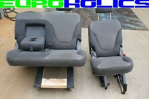 Oem Ford Expedition 97 02 Rear 2nd Second Row Seats Gray Cloth Freight