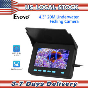 Underwater Fishing Camera Fixed on Rod Underwater Video Fish Finder 4.3
