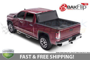 Bakflip Fibermax Tri fold Cover For 1999 2007 F 250 f 350 Super Duty 8 1ft Bed