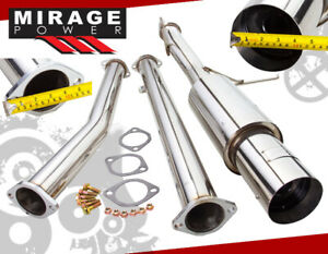 For 03 08 Mitsubishi Lancer Evolution 8 High Performance Catback Exhaust System