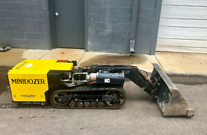 Movex Innovation Track o Mini dozer M 27 Electric Low Hours Remote Control