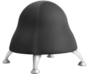 Safco Runtz Poly Ball Chair Black Model 4755bl