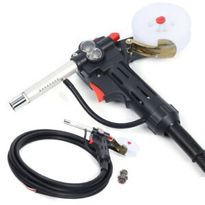 Mig Spool Gun Gas Shielded Welding Gun Lead Push Pull Feeder Aluminum Torch