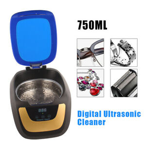 Ultrasonic Cleaner Machine Jewelry Watch Glasses Lens Cleaning Machine 750ml