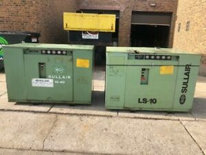 40 Hp Sullair Screw Compressor Well Maintained