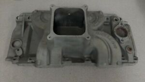 Edelbrock 2906 Victor Intake Manifold Bbc Tall 2 R 4500 Rectangle
