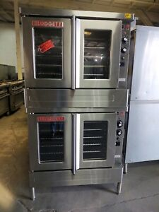 Blodgett Sho 100e Double Stack Convection Oven Electric