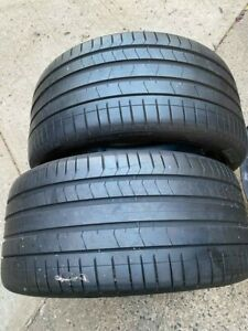 2x 315 35 21 Tires Pirelli P Zero Run Flat Tires 100 Tread Take Offs Free Ship