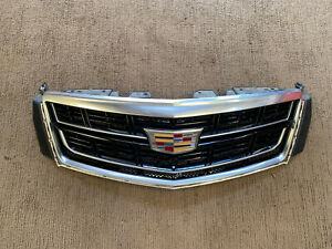 2016 2017 Cadillac Xts Grille Upper Base With Camera 23337016 L0850